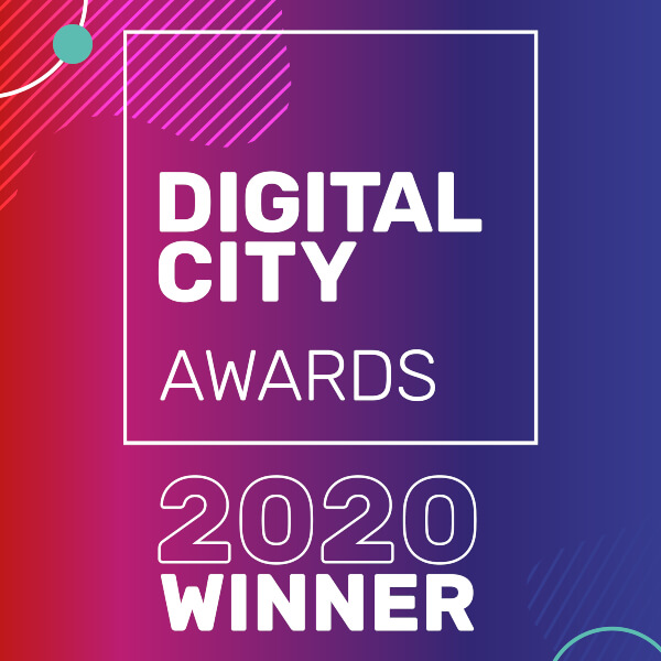 Digital City Awards 2020 Winner