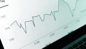 energy performance indicator line graph